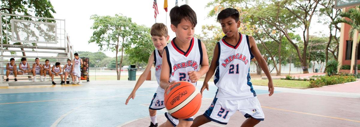 basquet colegial en ecuador