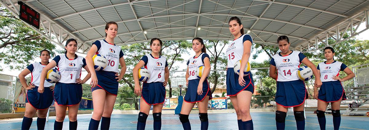 volley colegial en ecuador